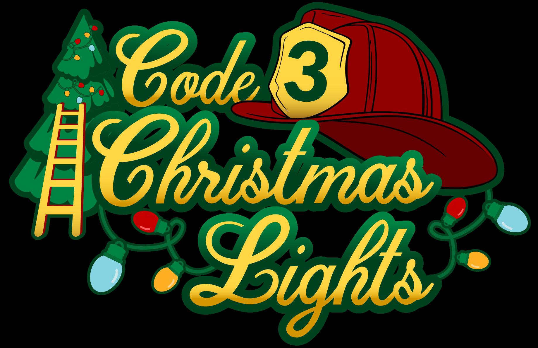 Code 3 Christmas Lights